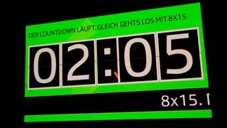 Das grosse Hallogalli der 8x15.-Bands