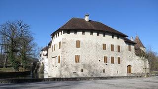 Schloss Hallwyl: Dank Laser-Pistole zu neuem Glanz