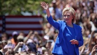 Millionärin Hillary: «Eine Demokratie nicht nur für Milliardäre»