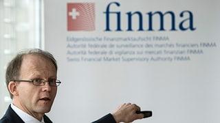 Finma sorgt mit Bericht für mehr Transparenz