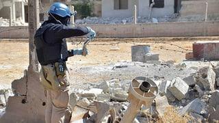 Russland unterstützt Syrien bei Vernichtung von C-Waffen