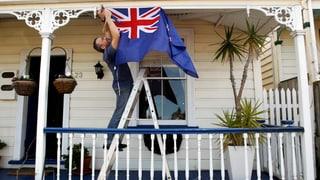 Neuseeland bleibt dem Union Jack treu