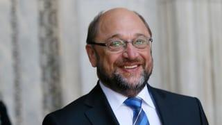 Martin Schulz: «Seien wir ehrlich: Wir lieben uns» (Artikel enthält Video)