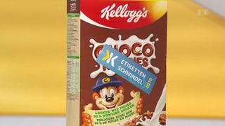 Der «Etikettenschwindel 2018» kommt von Kellogg's (Artikel enthält Video)