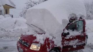 See produziert Schnee