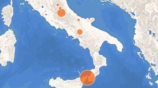 Schwere Erdbeben in Italien