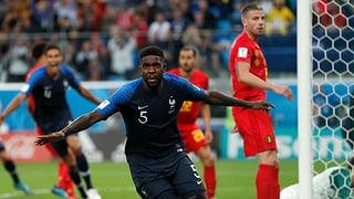 Frankreich dank Umtiti im Final