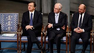 Friedensnobelpreis an EU überreicht