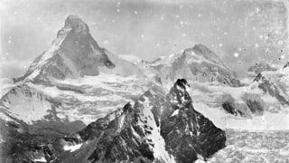 Die Wucht der Alpen vor 140 Jahren