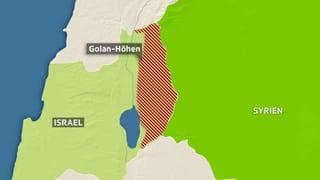 Trump anerkennt Israels Souveränität über Golanhöhen