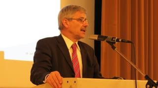 Abtretender CVP-Regierungsrat Conti stellt sich seiner Partei