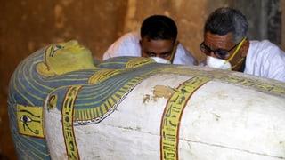Neue ägyptische Grabstätte enthüllt