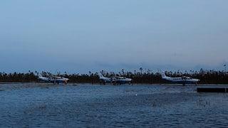 «Die Träger am Hangar waren verbogen wie Lötdraht»