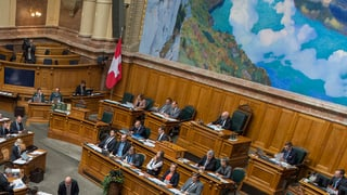 BDP und CVP bilden keine gemeinsame Fraktion im Bundeshaus