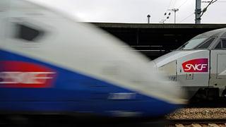 Bahn-Streik in Frankreich trifft auch die Schweiz