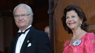 König Carl Gustaf und Silvia: Gehts um Uhren, ticken sie anders
