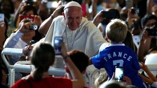 So verlief der Besuch von Papst Franziskus in Genf