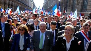 Frankreichs Front National ist auf dem Vormarsch