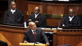 Jacob Zuma steht unter Beschuss