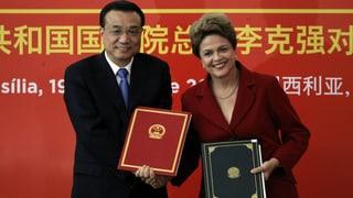 China investiert massiv in Brasilien