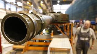 Schweiz exportiert deutlich mehr Rüstungsgüter