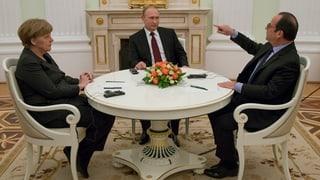 Gespräche in Moskau zu Ende – Inhalt vorerst geheim