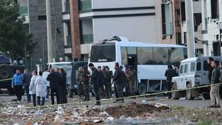 Sieben Tote bei Anschlag auf Polizisten in der Türkei
