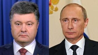 Putin und Poroschenko treffen aufeinander