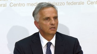Burkhalter zu seinem Rücktritt: Das Protokoll zum Nachlesen