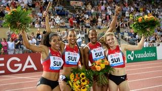 Nov record svizzer en la staffetta da 4 x 100 m