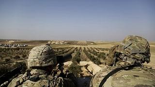 Türkei verstärkt Grenzen