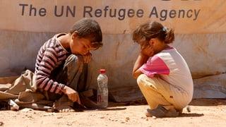 «Entsetzlicher Meilenstein»: Ein Drittel der Syrer auf der Flucht