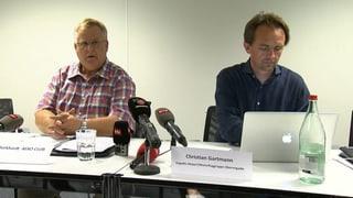 Das Protokoll der Medien-Konferenz in Samedan