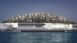 Video «Louvre Abu Dhabi: vom Sinn und Unsinn des Mega-Franchiseprojekts » abspielen