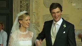 Heirat: Prinz Amadeo und Elisabetta Maria Rosboch von Wolkenstein