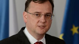 Politisches Erdbeben in Tschechien