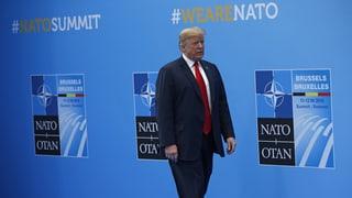 Trump fordert Verdopplung der Verteidigungs-Budgets