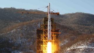 Trump verurteilt Nordkoreas Raketenabschuss