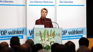 FDP St. Gallen schickt Keller-Sutter einstimmig ins Rennen