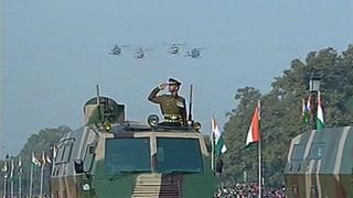Schweizer Waffen-Produzenten spielen in Indien mit dem Feuer