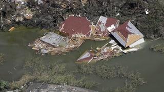 Hurrikan «Michael» hinterlässt grossflächige Zerstörung