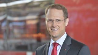 Renato Fasciati neuer RhB-Direktor