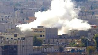 IS-Miliz nimmt kurdisches Hauptquartier in Kobane ein
