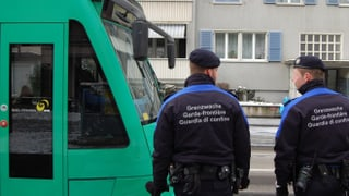 Zwei Kilo Marihuana in Basler Tram erwischt