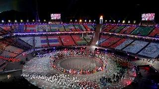 Las flommas olimpicas èn stizzadas
