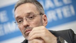 Il minister da l'intern austriac sto ir