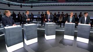 «Arena»: Der Ansturm von Asylsuchenden auf die Schweiz