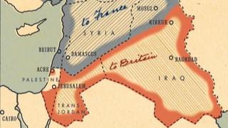 Eine «Linie im Sand», die den Nahen Osten bis heute prägt