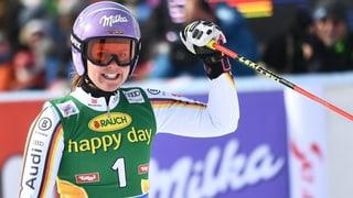 Skis: Viktoria Rebensburg gudogna a Sölden