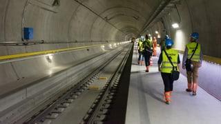 Invista al tunnel da basa dal Gottard